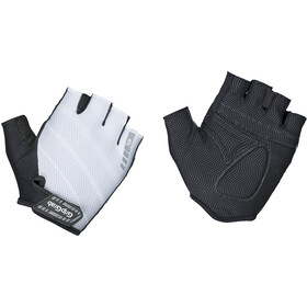 GripGrab Rouleur Padded Short Finger Gloves white